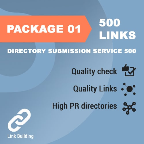 Package 01 – Directory Submission Service 500_promotionset