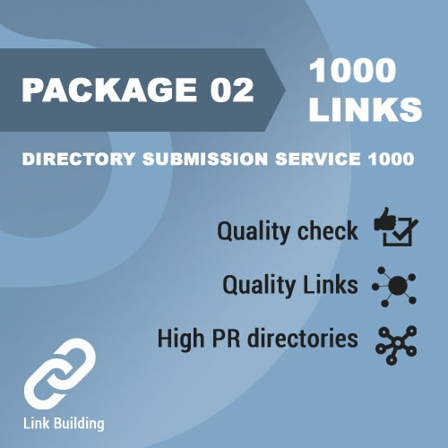 Package 02 – Directory Submission Service 1000_promotionset