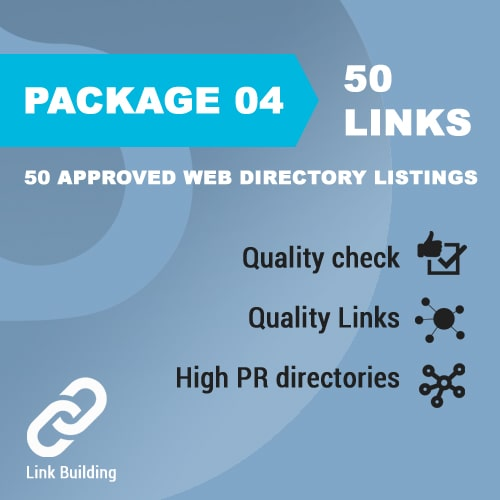 Package 04 – 50 Approved Web Directory Listings_promotionset