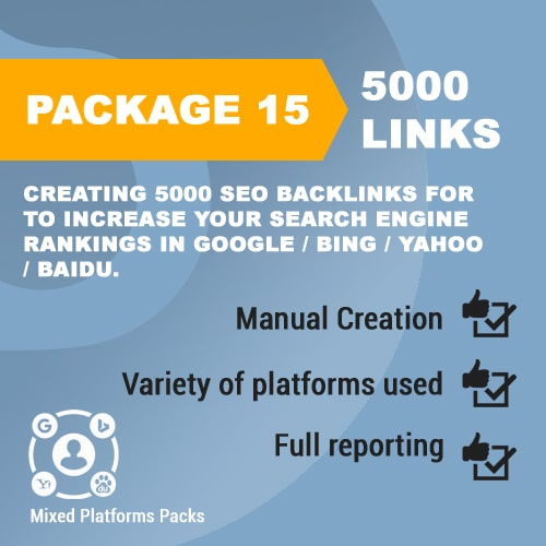 Package 15_5000 SEO Backlinks_promotionset