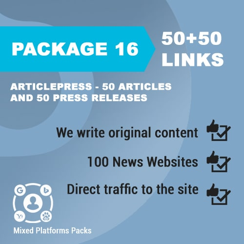 Package 16_ArticlePress - 50 Articles and 50 Press Releases_promotionset